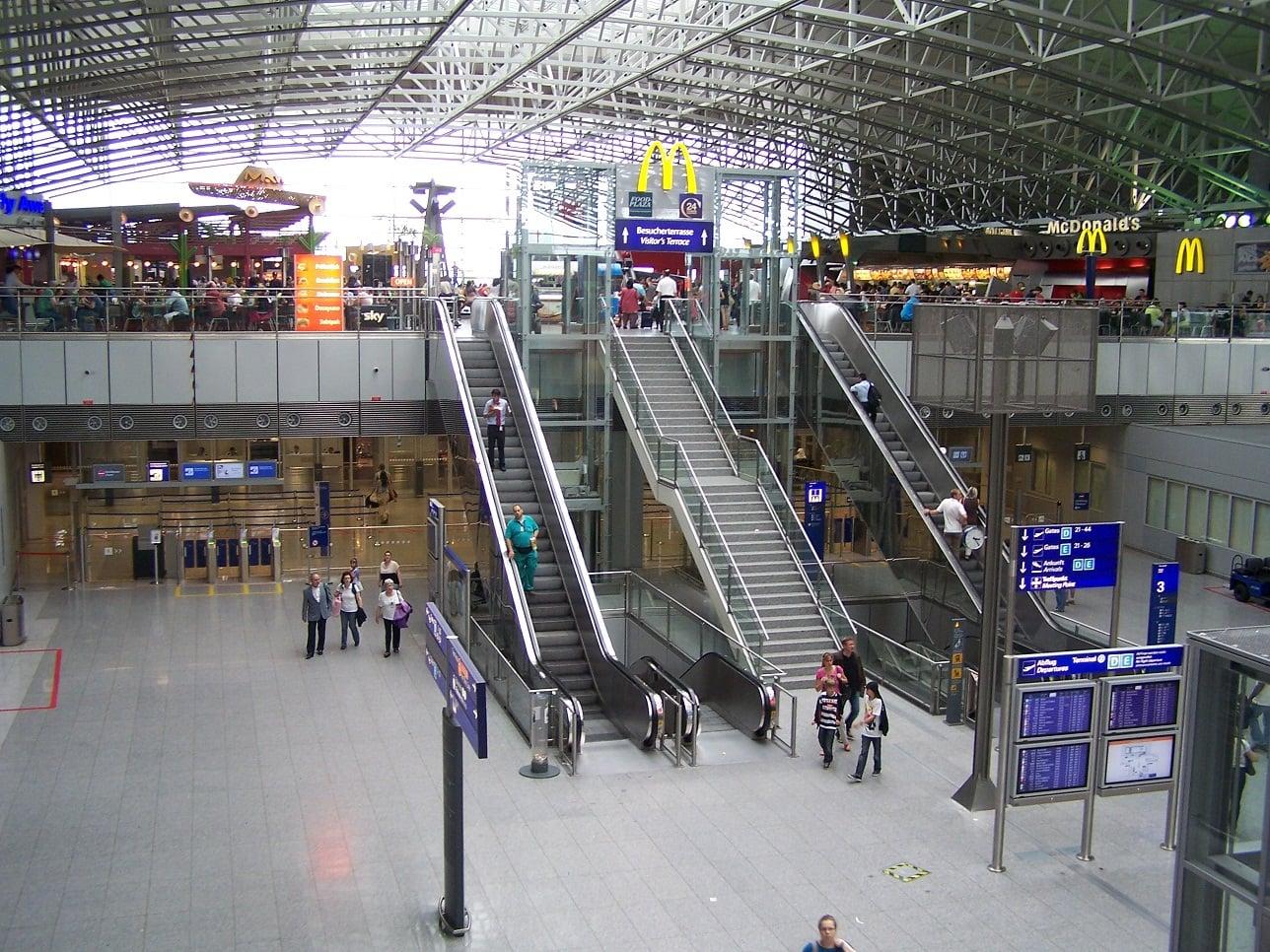 Frankfurt Airport McDonald's