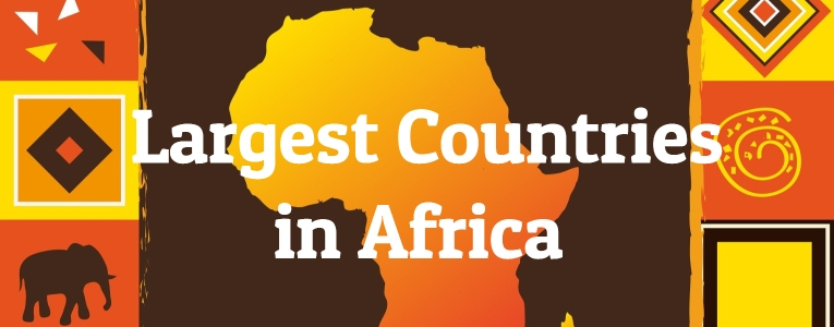 Largest Countries in Africa