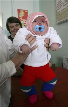 Tatyana Khalina's Baby