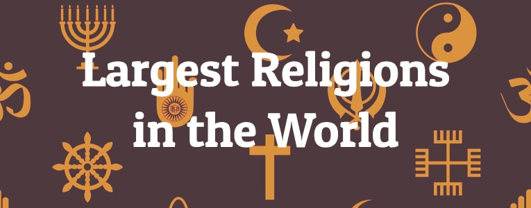 5 Largest Religions in the World