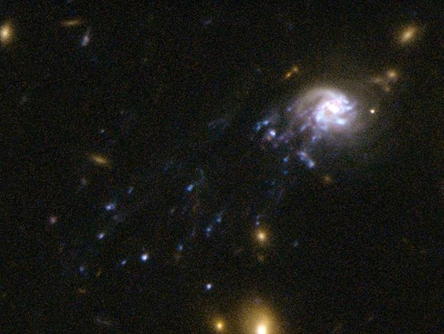 Comet Galaxy