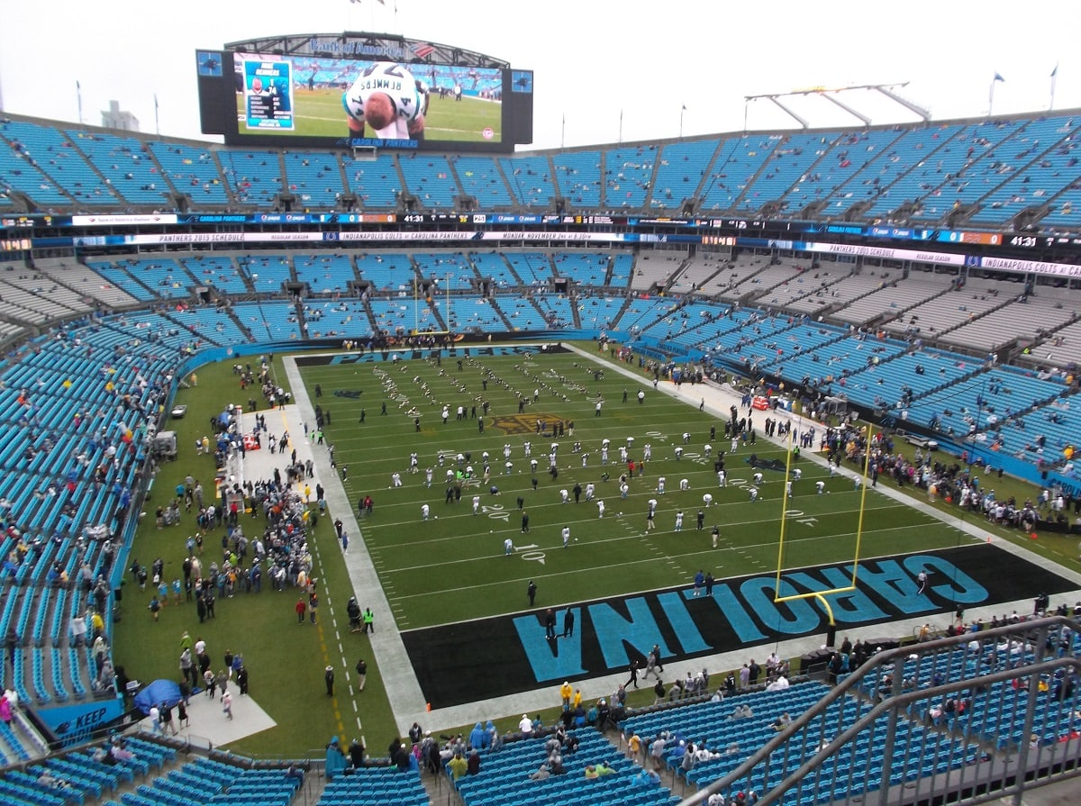 10 Largest Nfl Stadiums In The United States Largest Org