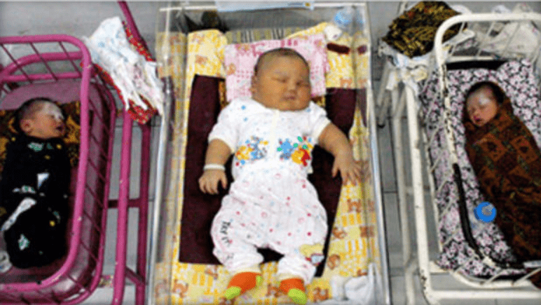 Ani and Muhammad Hasanuddin's Baby