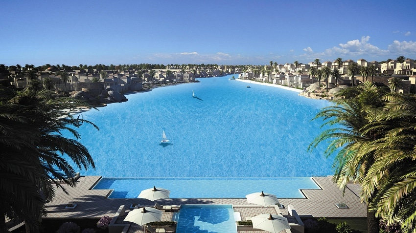 Crystal Lagoon at Citystars Sharm El Sheikh