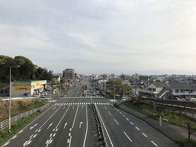japan's road network