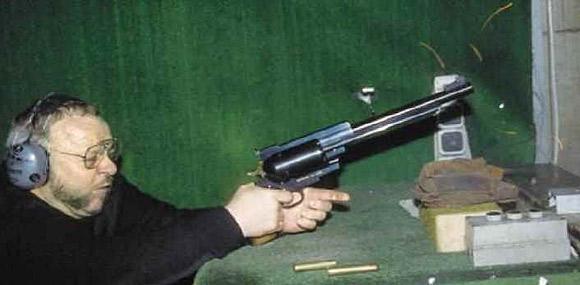 Pfeifer-Zeliska .600 Nitro Express Revolver