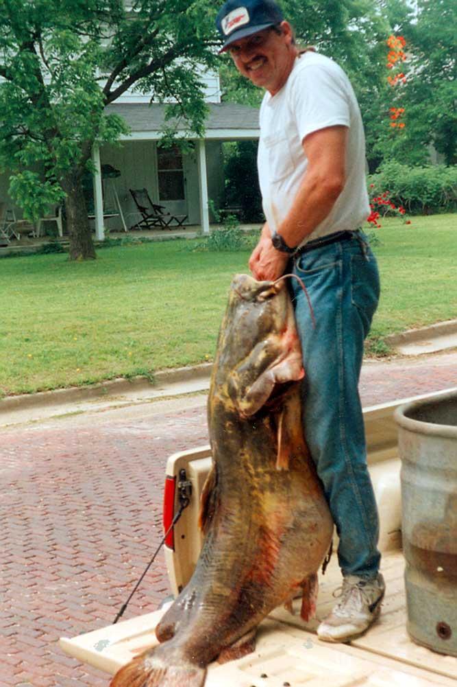 Record Flathead Catfish