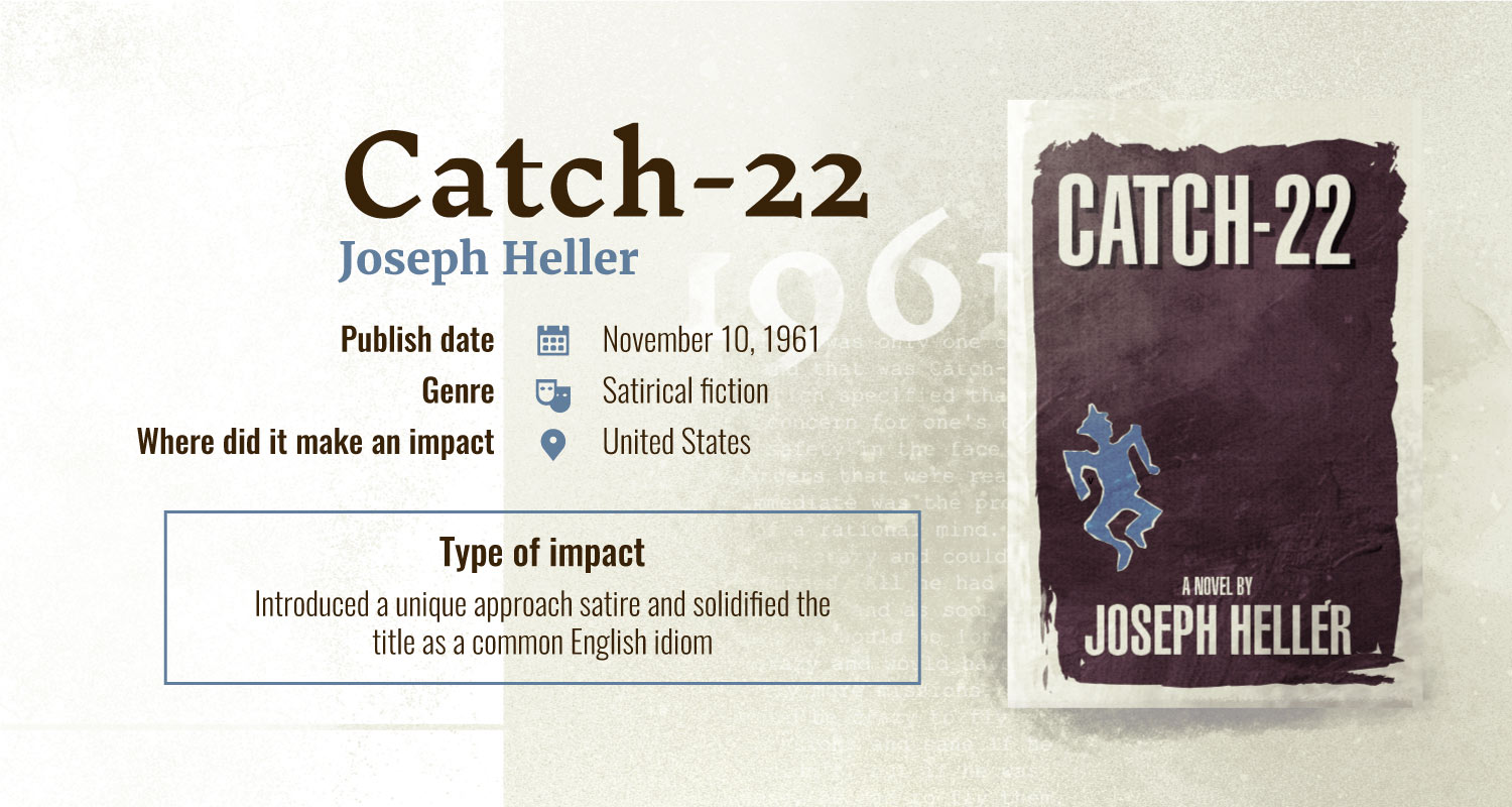 catch 22 books with largest impact