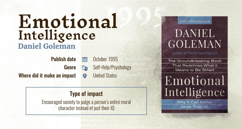 emotional intelligence books with largest impact