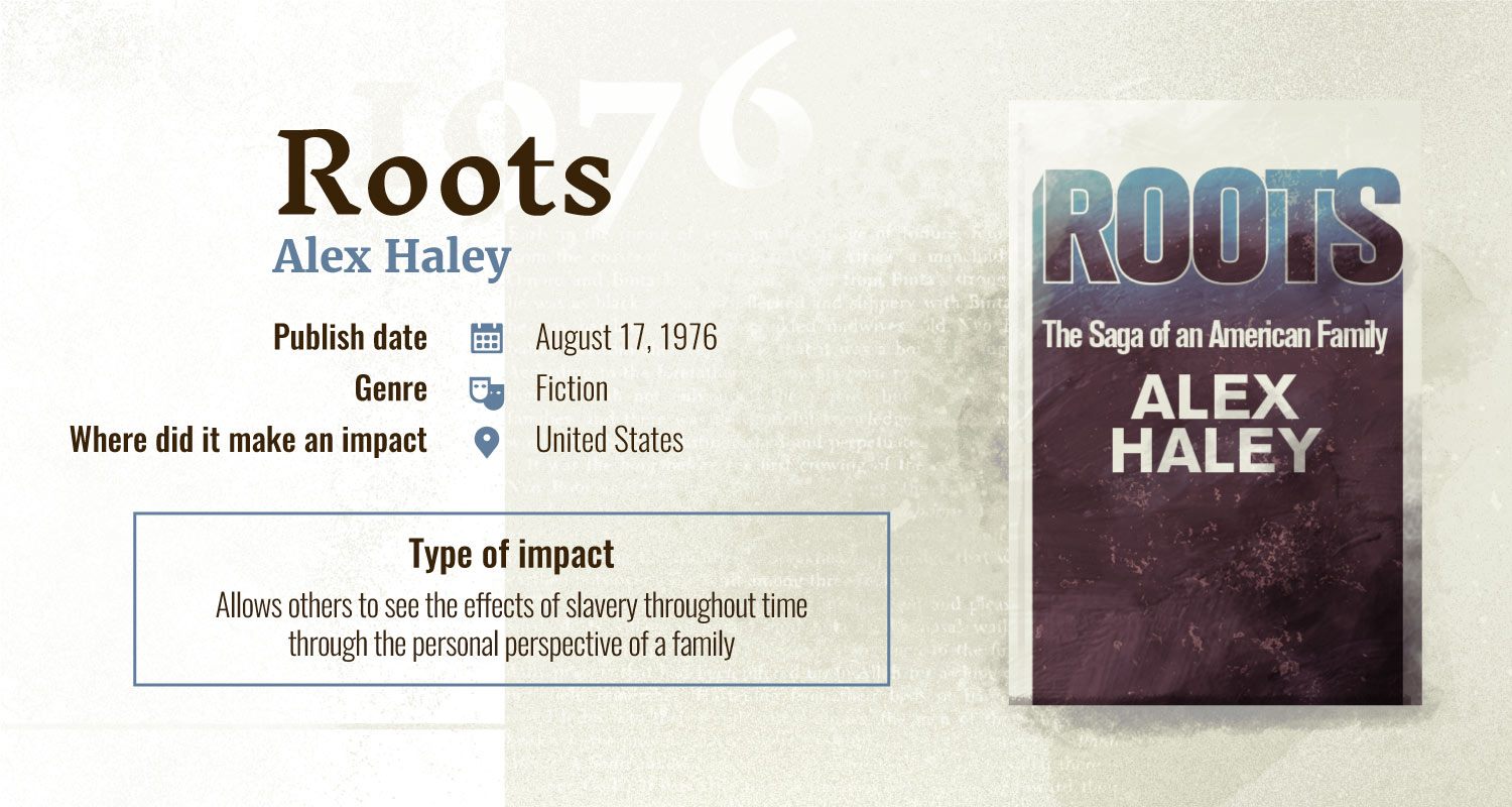 roots books with largest impact