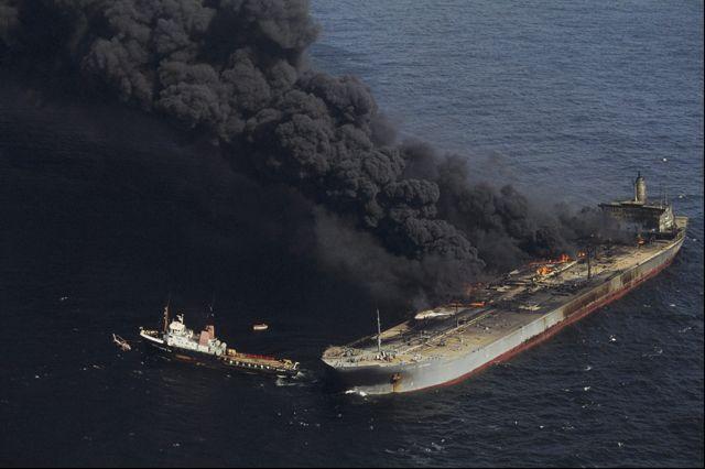 Atlantic Empress Oil Spill