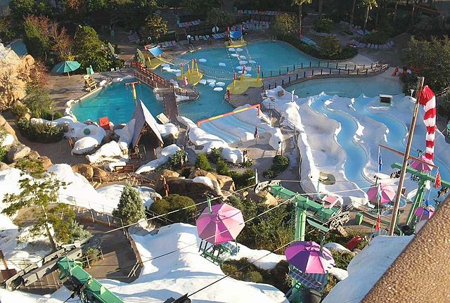 Blizzard Beach at Disney World