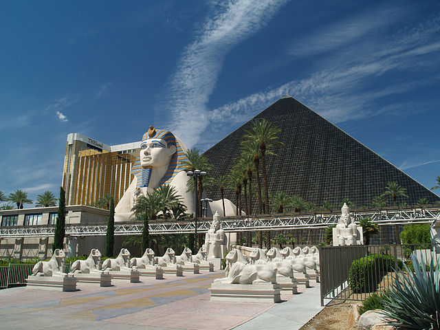The Luxor Las Vegas Pyramid