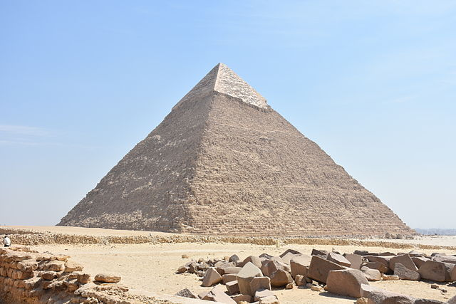 Pyramid of Khafre/Chephren
