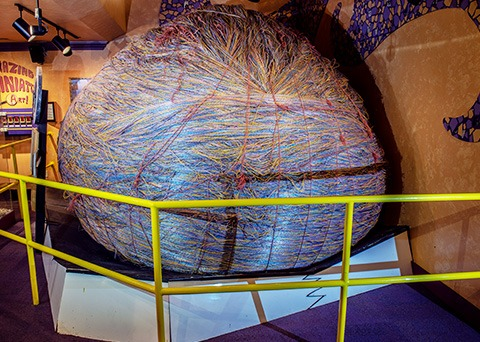 Largest ball of nylon twine