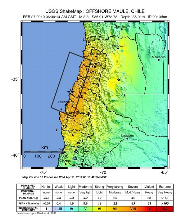 Maule Earthquake