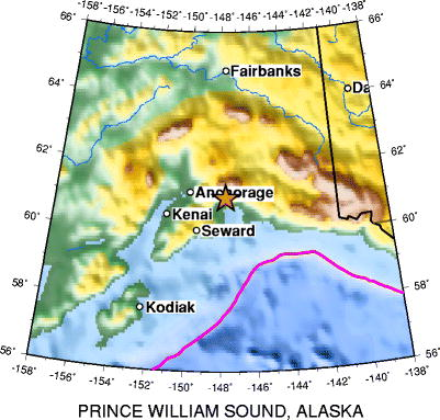 Great Alaskan earthquake