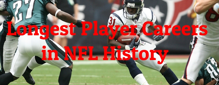 Longest Player Careers in NFL History