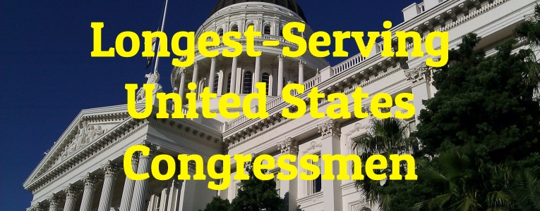 Longest-Serving United States Congressmen