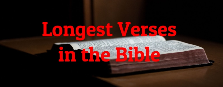 Longest Verses in the Bible